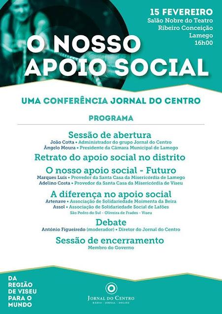 Misericórdia de Lamego apoia realização de grande conferência sobre o setor social