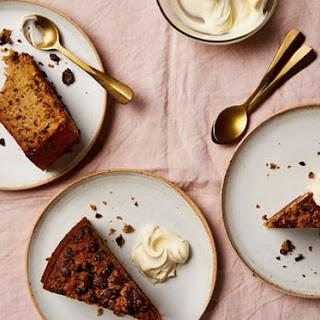 Fig, Dark Chocolate and Brandy Cake Recipe