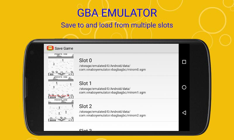 Скриншот VinaBoy Advance - GBA Emulator