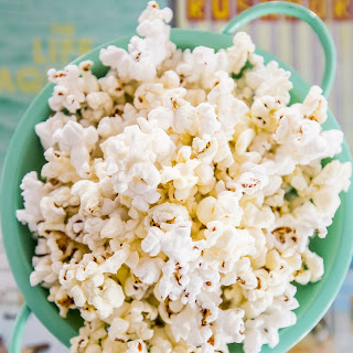 The Best Homemade Movie Style Butter Popcorn.