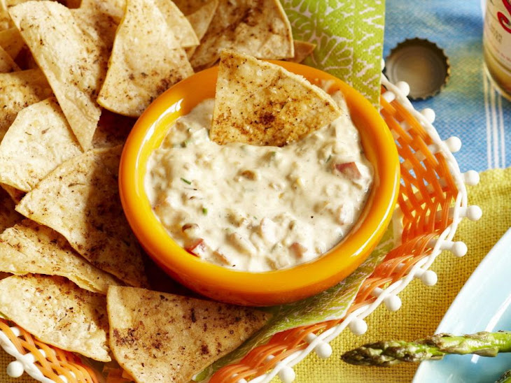 Queso Fundido Dip with Tortilla Chips
