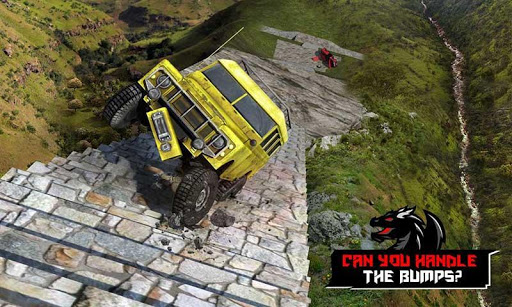 Cruiser Car Stunts: Dragon Road Driving Simulator apktram screenshots 3