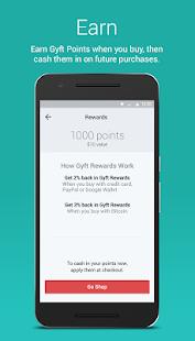 Gyft - Mobile Gift Card Wallet- screenshot thumbnail