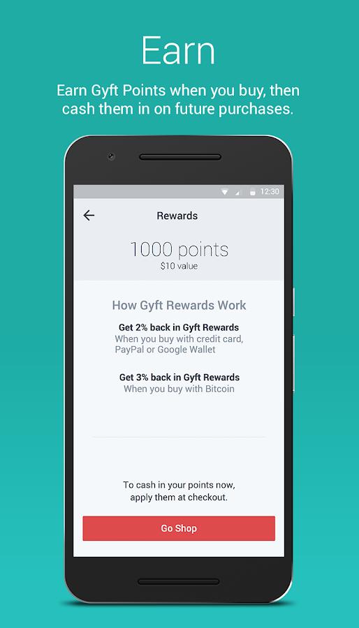 Gyft - Mobile Gift Card Wallet- screenshot