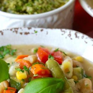 ProvençAl Vegetable Soup with Pistou Recipe