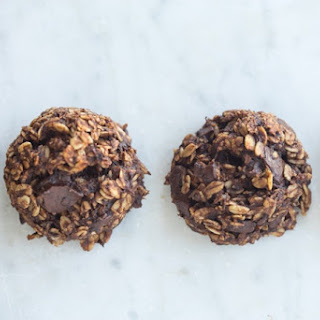 Healthful Double Chocolate Cookies.