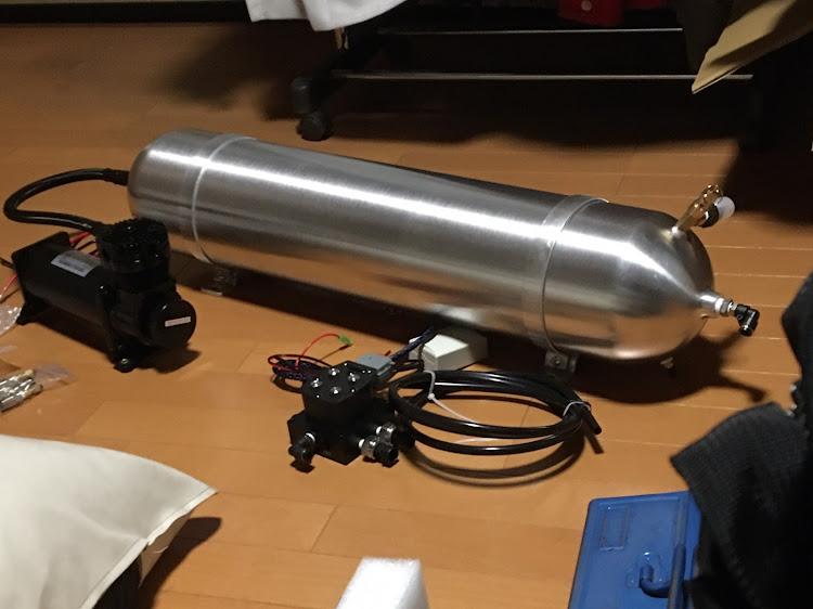 クラウンマジェスタ URS206のSSR cv04,お盆休み,夏休みの工作,大雨に気をつけて!,純正エアサスハイスピード化に関するカスタム&メンテナンスの投稿画像2枚目