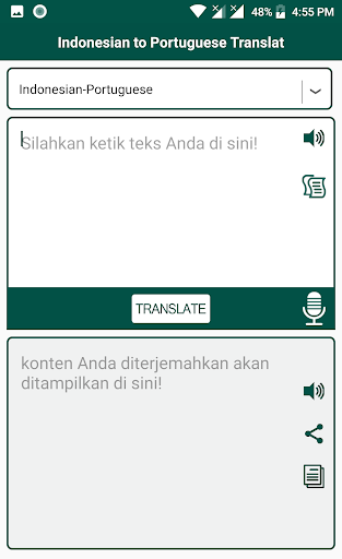 Indonesian Portuguese Translat Apk Download 4