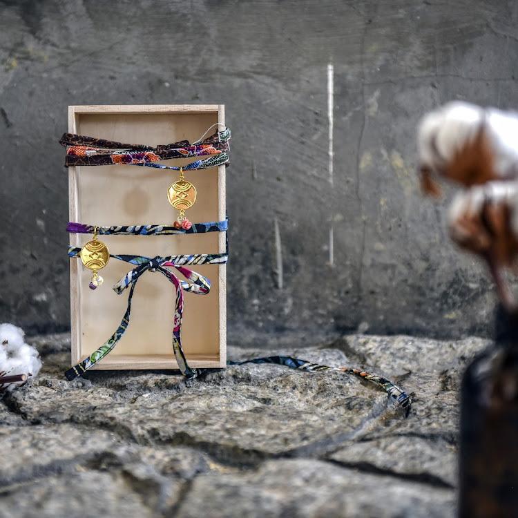 Wrap Choker / Bracelet #Maya