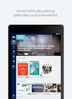 Screenshot of Helsingin Sanomat
