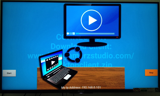 Live Desktop TV Stream - náhled