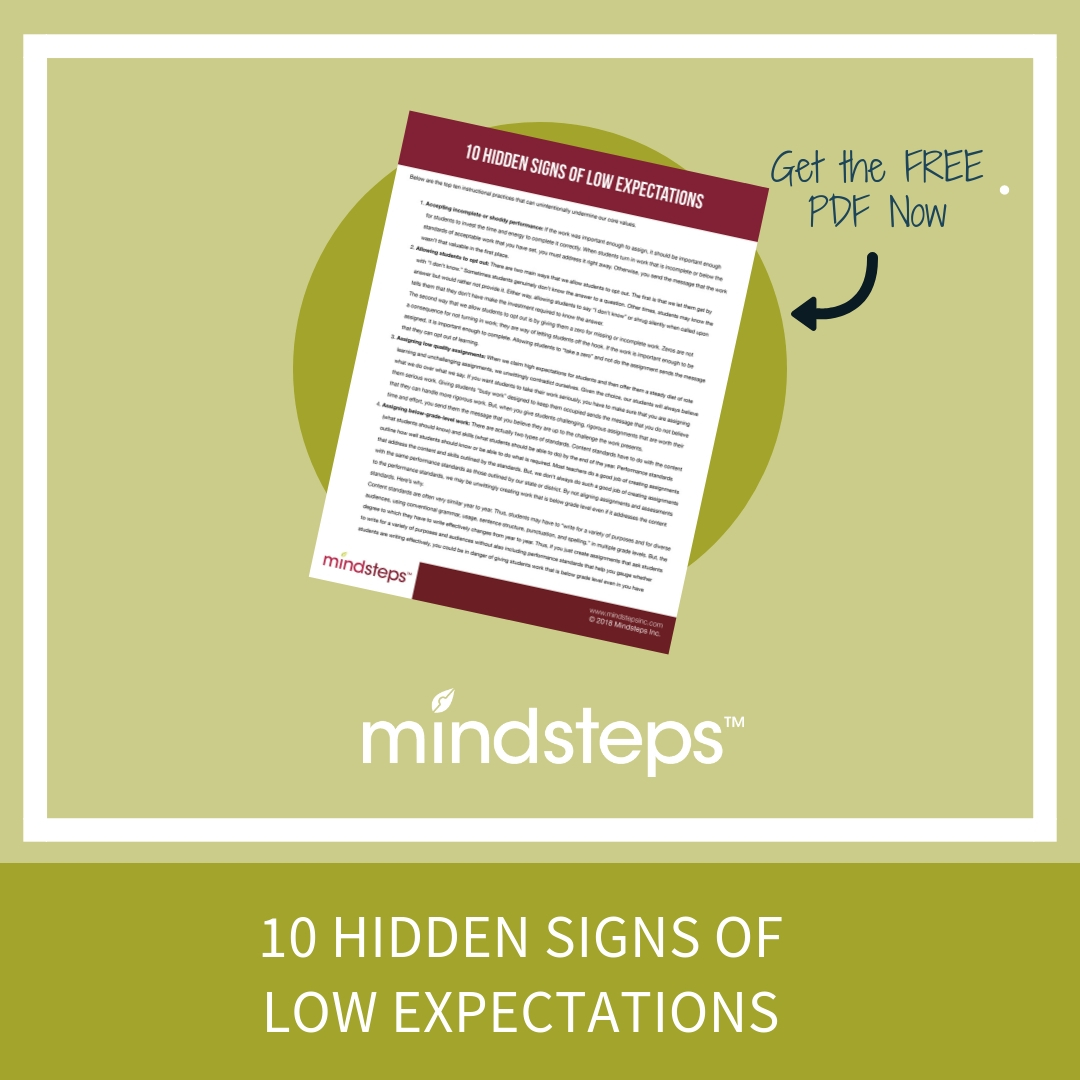 10 Hidden Signs of Low Expectations