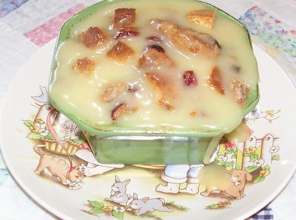 Peggi's Bread Pudding With Lemon Sauce Recipe