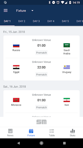 World Soccer Scores Live from Russia in 2018 7.7.3 screenshots 2
