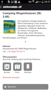 Swisscamps screenshot 3