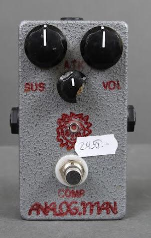 Analog Man Comprossor USED - Fair Condition - Broken knob - No box or PSU