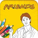 Coloring Book for Friends icon