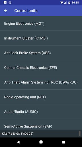 MotoScan for BMW Motorcycles  screenshots 3