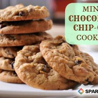 Mint Chocolate Chip-Oat Cookies.