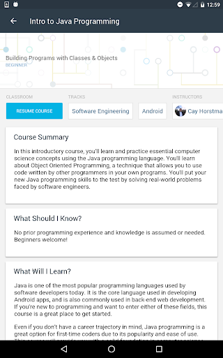 Udacity - Lifelong Learning 3.9.1 screenshots 13