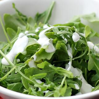 Creamy Garlic Herb Salad Dressing.