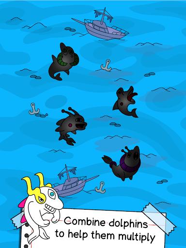 Dolphin Evolution - Mutant Porpoise Game apkdebit screenshots 7