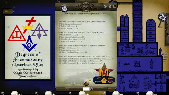 Degrees of Freemasonry (American Rite) 1