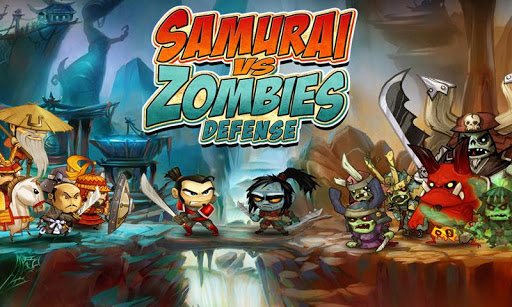 SAMURAI vs ZOMBIES DEFENSE screenshot 1