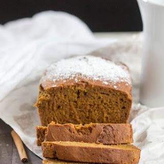 Easy Pumpkin Bread {Gluten Free, Vegan}