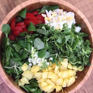 Roaming Fields W/ Field Salad & Potatoes Recipe