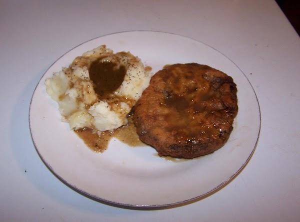 Chicken Fried Steak Or Sandwich Recipe