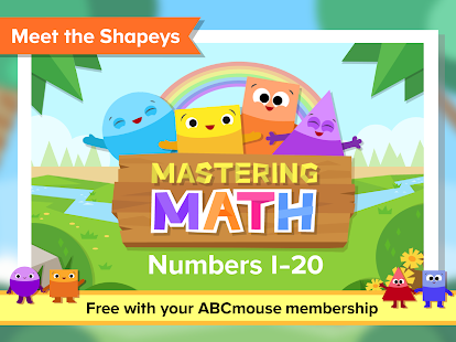 ABCmouse Mastering Math - náhled