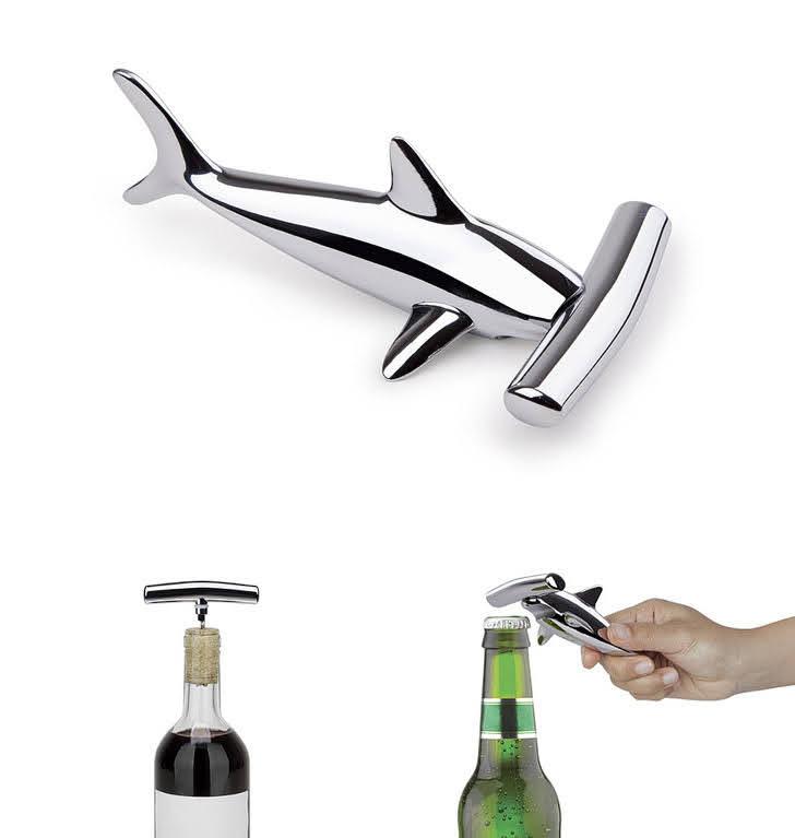 Hammerhead Corkscrew (5 Unique Five Year Anniversary Gift Ideas).