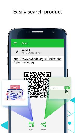 QR Code Scanner & Barcode Reader, Product Checker 1.1.2 11
