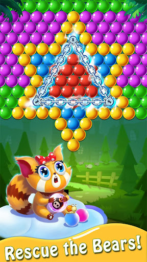 Bubble Shooter : Bear Pop! - Bubble pop games apktram screenshots 1