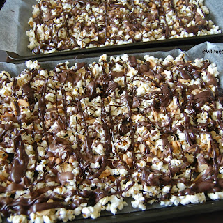 Movie Snack Chocolate Cashew Popcorn.