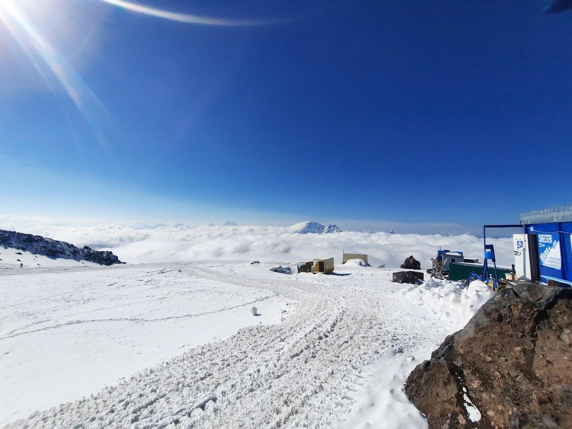 Восхождение на Эльбрус с юга. Июль 2021