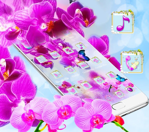 Pink Orchid 2018 New Theme 1.1.2 screenshots 2