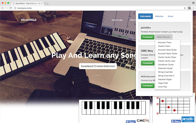 MusicPALS - Play And Learn Songs
