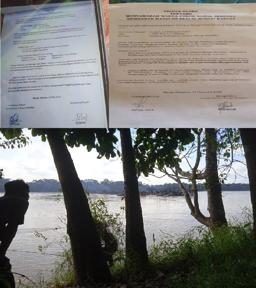 Komandan Lapor : Ada Apa Sebenarnya Peti Kapuas Marak Lagi di Kabupaten Sekadau
