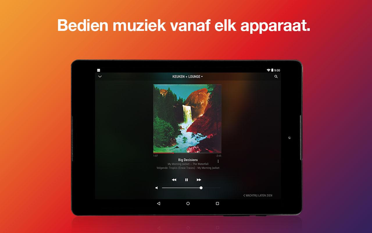 Sonos Controller for Android: screenshot