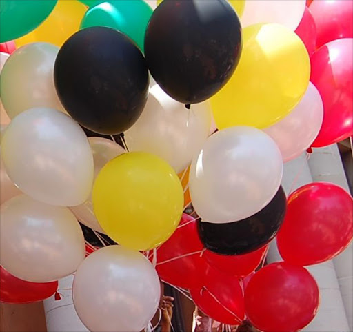 Balloons. File picture