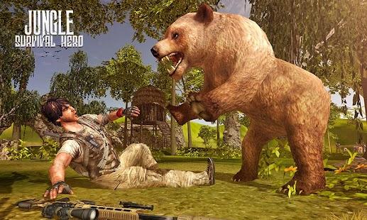 Gun Shooting 3D: Jungle Wild Animal Hunting Games - náhled