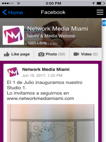 NM Miami Radio Online: captura de pantalla