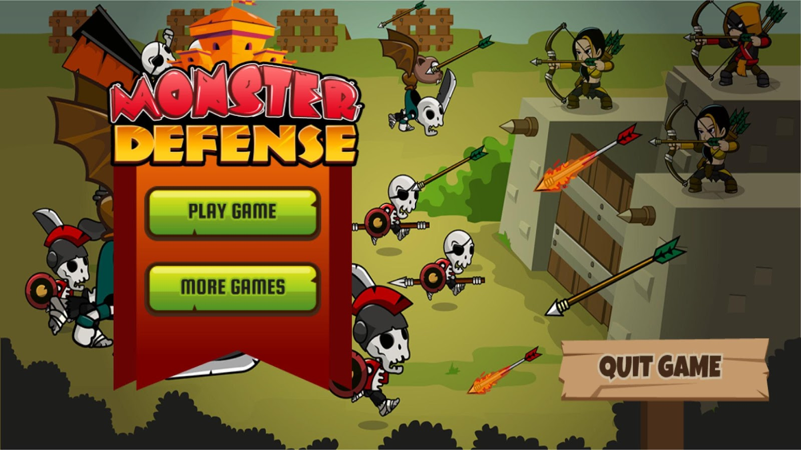 Monster Defence- screenshot