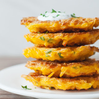 5-Ingredient Butternut Squash Fritters Recipe