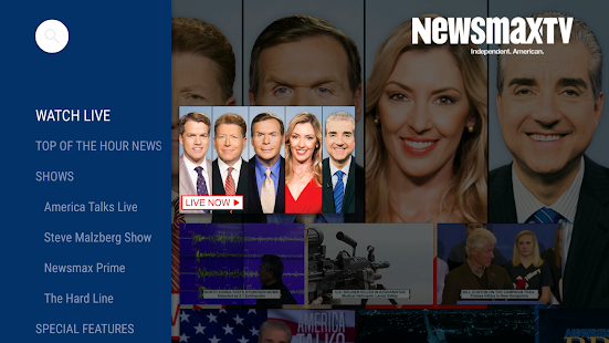 Newsmax TV- screenshot thumbnail