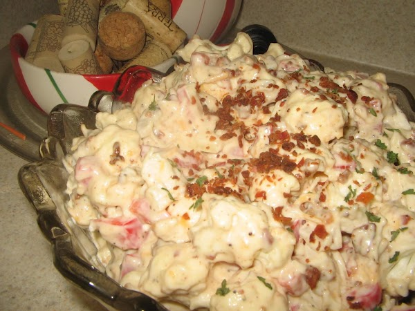 Cauliflower Salad Deli Style Recipe