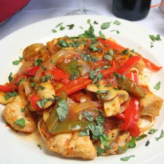 Crock Pot Chicken and Zucchini Pasta Sauce.
