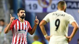 Costa celebra la victoria.